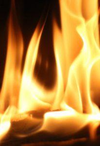 Feuer kaminofenheizen